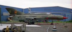 959 Mikoyan Gurevich MiG-21SPS Fishbed-F East German AF (eLaReF) Tags: baginton england unitedkingdom gb 959 mikoyan gurevich mig21sps fishbedf east german af