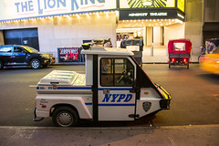 Patrol Car? (gendarme02) Tags: nypd nyc nikon nikond7100 newyorkcity timessquare police vehicle car cart transportation lawenforcement d7100 dslr
