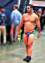 IMG_3953 (danimaniacs) Tags: hot sexy pecs beard underwear legs hunk trunks speedo swimsuit stud scruff dragcon andrewchristian