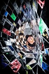 Exploring Wonderland (Luca Romano) Tags: portrait colors mirror geometry alice fantasy wonderland buco riflessi ritratti ritratto fable specchio facce geometrie affaccio