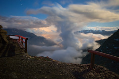 Cloud Formations (a galaxy far, far away...) Tags: clouds night nightphotography longexposure susa valsusa susavalley mountain mountains atmosphere