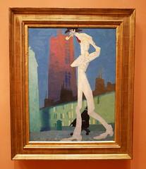 Lyonel Feininger : The White Man, 1907. (neppanen) Tags: madrid art museum painting spain maalaus taide feininger espanja thyssenbornemisza lyonel lyonelfeininger kuvataide thyssenbornemiszamuseum discounterintelligence maalaustaide sampen