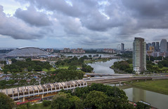 Singapore Sports Hub   Cityscapes Singapore (gintks) Tags: gintaygintks gintks landscapes cloudy kallangmrt kallangwave kallangriver ndp2016 fireworks ndpfireworks2016 singapore singaporetourismboard singapur yoursingapore exploresingapore