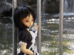 Close Up (azaeldragon.cd) Tags: bjd luts kiddelf elfani waterfall gilroygardens