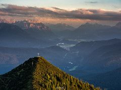 Martinskopf (1676m) Sunset (F!o) Tags: martinskopf krn wallgau karwendel alpen alps berge mountains sunset sunrise sonnenuntergang bayern bavaria germany summit gipfel