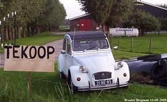Citron 2CV 1973 (XBXG) Tags: 21be85 citron 2cv 1973 citron2cv 2cv6 2pk eend geit deuche deudeuche muiden nederland holland netherlands paysbas vintage old classic french car auto automobile voiture ancienne franaise france frankrijk