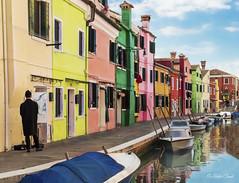 Burano, Venecia, Italia (hectoR condE) Tags: burano venecia italia viaje agua casas botes d610
