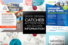Flyer Design Sample Two (Studio Comma - Branding & Design Agency) Tags: studio comma studiocomma graphic design art agency affordable fast online service gig fiverr flyer informative engaging corporate product business nice cool neat