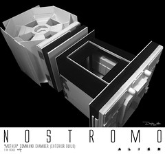 NOSTROMO-MOTHER-CHAMBER-20 (sith_fire30) Tags: alien nostromo scratchbuilding model building sheet styrene diorama prometheus covenant narcissus shuttle ripley rildley scott mother muthur6000 sithfire30 dayton allen custom action figure
