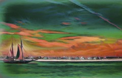 Entering the Harbor - A Photo Painting (Rusty Russ) Tags: photo painting plum island merrimac river tall sailing ship photoshop flickr google bing daum yahoo image stumbleupon facebook getty national geographic magazine creative creativity montage composite manipulation color hue saturation flickrhivemind pinterest reddit flickriver t pixelpeeper blog blogs openuniversity flic twitter alpilo commons wiki wikimedia worldskills oceannetworks ilri comflight newsroom fiveprime photoscape winners all white air eye art landscape instagram digital light new high exposure style tumblr android stockpainterly paysage young brush red blue green