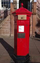 Victorian Post Box, Carlisle (tosh123) Tags: postbox carlisle cumbria machan penfold
