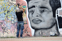 Sguardo (giodivi) Tags: murales fotografo nikon sguardo street streetart art design disegno graffiti