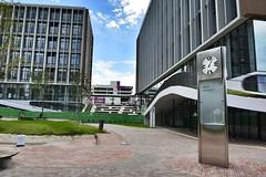 Meijo University ,Nagoya City, Japan. (marcelo.nakazaki) Tags: arquitetura cidade city predio edificio universidade faculdade asia aichiken japan japon japao nagoya relogio ceu nuvem sky jardim gardem