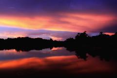 Sunset At Angkor Wat (El-Branden Brazil) Tags: cambodia cambodian angkorwat sunset siemreap southeastasia sky sun