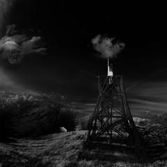 the travel (old&timer) Tags: background blackandwhite infrared filtereffect composite surreal model deviantart senzostock song4u oldtimer imagery digitalart laszlolocsei