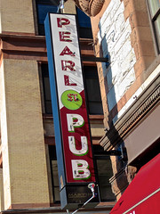 Pearl St. Pub, Albany, NY (Robby Virus) Tags: albany newyork state pearl st street pub bar tavern booze alcohol grub wings burgers pizza casual neon sign signage