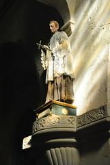 Statue dans l'glise Saint-Trophime  Lacoste. (Claudia Sc.) Tags: provence lubron france statue glise church