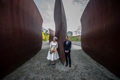 Seattle wedding (Rick Takagi) Tags: seattle park wedding sculpture square hotel groom bride downtown event venue pioneer sodo withinsodo