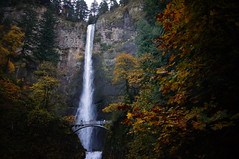 untitled (tiana dixon) Tags: green fall nature water weather oregon river landscape photography colombia falls waterfalls gorge multnomah