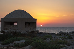 vecchio  fortino (paolotrapella) Tags: sunsets tramonti colori paesaggi puglia albe torresuda