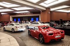 Mall of the Emirates (jansupercars) Tags: cars mall spider dubai uae s automotive ferrari emirates spotted luxury 57 amg supercars combo carphotography maybach 2014 carporn 458 57s autogespot