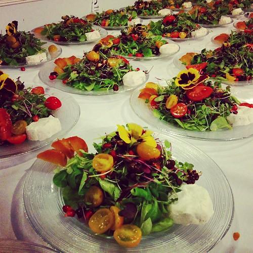 #tomato #goatcheese #salad #Hamptons #Birthday