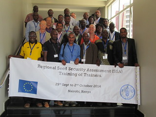 Horn of Africa Training of Trainers Workshop on Seed Security Assessment