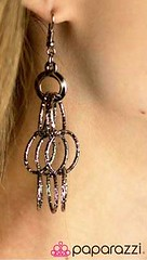 5th Avenue Black Earrings K1 P5110-3