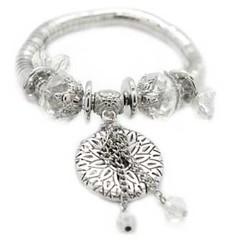 5th Avenue White Bracelet P9410-5