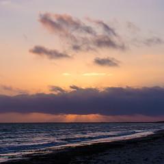 Falsterbo Sunset (Hkan Dahlstrm) Tags: sunset sea sky orange photography se skne sweden cropped sverige f56 falsterbo 2015 skneln canoneos100d sek efs1855mmf3556isstm falsterbostranden 8917012015154927