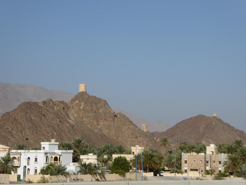Sighting towers of Bidbid