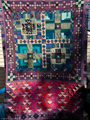 PB023008 (MizGingerSnaps) Tags: pink november autumn usa fall virginia purple quilt top teal hippy blues crosses windy full solids quilting finished williamsburg trippy psychedelic crisscross improvised scrap completed pinks teals primitive resurrection purples 2014 improvisational pieced 9patch plaids piecing aquas intheyard jamescitycounty