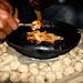 Eating Traditional Tihlo, Ethiopia