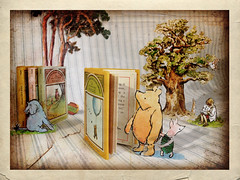 🎈 Happy 100th Birthday - Winnie the Pooh 🎈 (anniedaisybaby) Tags: bear history childhood winnipeg jenny memories 🎈 books manitoba textures pooh happybirthday winniethepooh illustrator piglet winnie eyore 100years flypaper aamilne minibooks christopherrobin ernesthshepard lesbrumes ltharrycolebourn 312inhigh