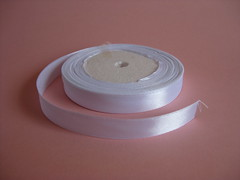 White Ribbon (ONE by one) Tags: white ribbons material ribbon supplies 12cm
