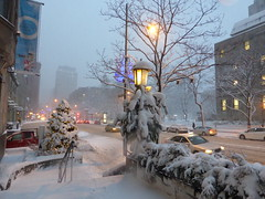 Montreal Dans la Neige/ A Snowy Day in Montreal (anng48) Tags: winter snow canada quebec montreal hiver neige qc sherbrookestreet