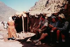Atlas Mountains - 1996 (only lines) Tags: mountains trek 1996 scan atlas morocc