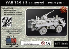 VAB T20 13 / complete resin kit (Model-Miniature / Military-Photo-Report) Tags: scale de gun with vab armor 20mm now 13 turret available 172 ibd t20 vhicule 127mm lavant blind modelminiature t2013 httpwwwmodelminiaturecomproductphpidprovab turretduct419 cb127