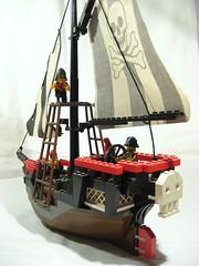 Pirate ship - back (Axel Eng) Tags: ship lego pirates