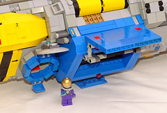 Old Arrietty (Librarian-Bot) Tags: ship lego space cargo spaceship courier moc airlock