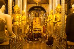 Around Shwedagon Pagoda, Yangon, Myanmar (maxunterwegs) Tags: statue gold buddha shwedagon yangon burma monk myanmar birma shwedagonpagoda rangoon mönch birmanie shwedagonpaya birmania shwedagonpagode rangún rangoun rangum pagodeshwedagon yangonregion