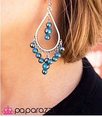 Glimpse of Malibu Blue Earring K2 P5712-4