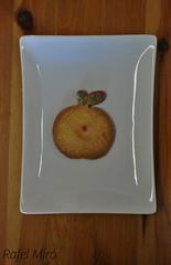 Galeta en forma de poma amb decoracio de sucre (Rafel Miro) Tags: apple cookies galetes cookie manzana sweet catalonia homemade catalunya dulce rubi poma galletas casero galleta glaseado dol galeta casol fosting glassejat