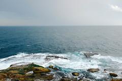 (louisiana mei) Tags: ocean new nature water bondi wales rocks south sydney australia nsw fujifilm vsco x100s