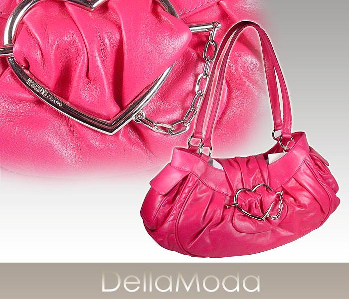 Moschino handbag Large Flap Leather Heart Bag J41370 pink (MOS04)  (s kenwald1) Tags d078932824