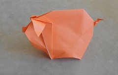 Pig by Hoang Tien Quyet (JF123456) Tags: origami origamipig hoangtienquyet kamipaper