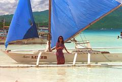 Boracay (andrzejek_ap) Tags: beach sailboat philippines boracay pinoy banka philippina