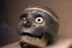 Mscara (psydei) Tags: travel art history museum canon dead mexico death skull carved interesting antique teeth culture offering bones bone museo historia anthropology sacrifice inah antropologia 70d freelensing