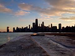 IMG_0632.JPG (Jessica_Dyer) Tags: winter sunset lake chicago ice lakemichigan lakeshore lakefront northavenuebeach