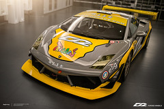 2015 Lamborghini LP600 GT3. (Mos Lin) Tags: suspension 輪圈 避震器 brakesystem airsuspension forgedwheels 煞車卡鉗 httpwwwd2racecom httpwwwd2wheelscom 2015d2racinglamborghinilp600gt3d2racing